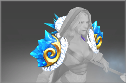 Mantle of the Blueheart Sovereign