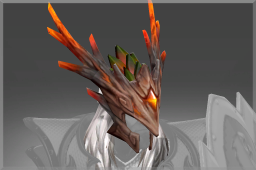 Scorched Amber Helm