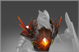 Scorched Amber Armor