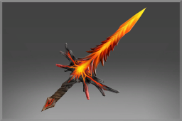 Scorched Amber Sword