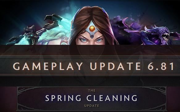 تغییرات 6.81 دوتا 2 - Changelog 6.81 - Spring Cleaning Update