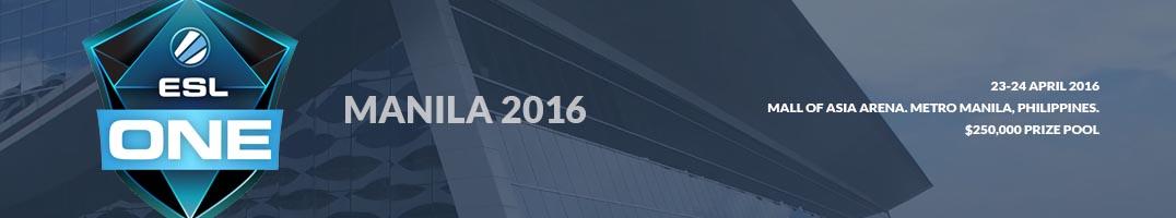 ESL One Manila 2016